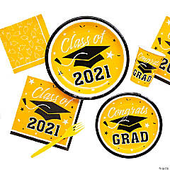Yellow Class of 2016 Graduation Party Supplies