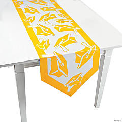 Yellow Congrats Grad Table Runner