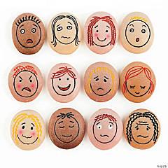 Yellow Door Emotion Stones, Pack of 12