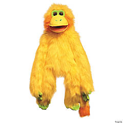 Yellow Funky Monkey Plush Puppet