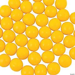 Yellow Medium Gumballs