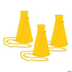 Yellow Megaphone Necklaces