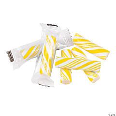 Yellow Mini Hard Candy Sticks
