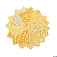 Yellow Mono Paper Pack