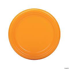Yellow Plastic Dinner Plates