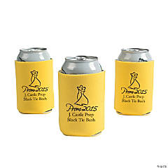 Yellow Prom 2015 Personalized Can Covers