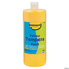 Yellow Tempera Paints