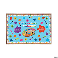 You Are God's Masterpiece Bulletin Board Set