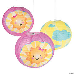 You Are My Sunshine Hanging Paper Lanterns