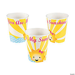 You Are My Sunshine Paper Cups