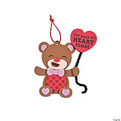 You Make My Heart Float Bear Ornament Craft Kit