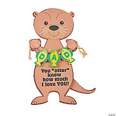 You Otter Know Dad Magnet Craft Kit