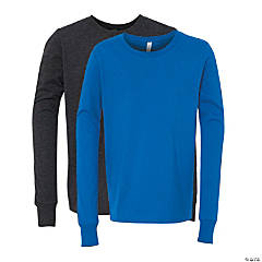 Youth Long Sleeve Jersey T-Shirt by Bella + Canvas