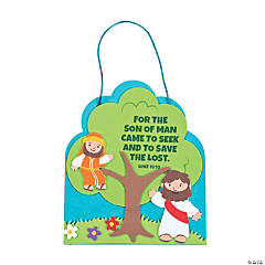 Zacchaeus Sign Craft Kit