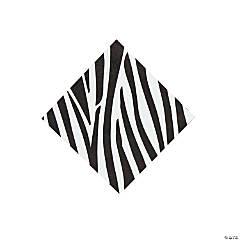Zebra Beverage Napkins