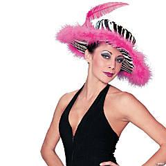 Zebra Pink Hat