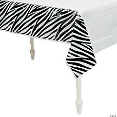 Zebra Tablecloth
