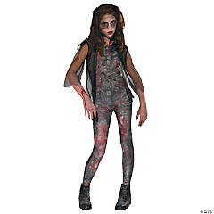 Zombie Dawn Costume for Girls