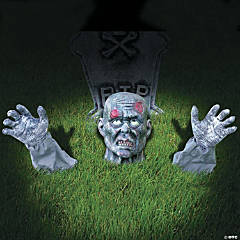 Zombie Ground Breaker Halloween Yard Decoration
