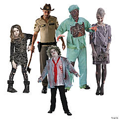 Zombie Group Costumes
