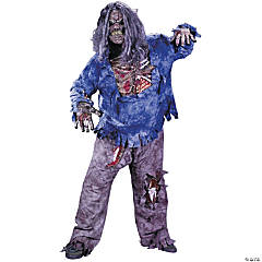 Zombie Plus Size Adult Men's Costume