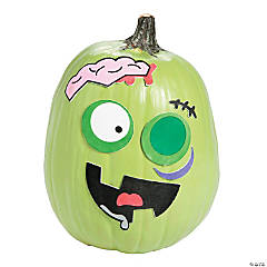 Zombie Pumpkin Decorating Craft Kit