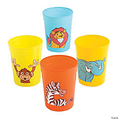 Zoo Adventure Cups