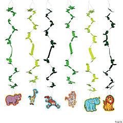 Zoo Adventure Hanging Swirls