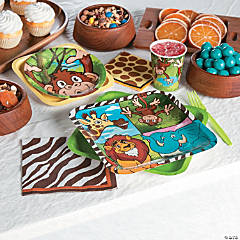 Zoo Adventure Party Supplies