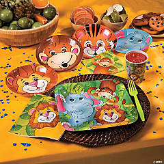 Zoo Animal Basic Party Pack
