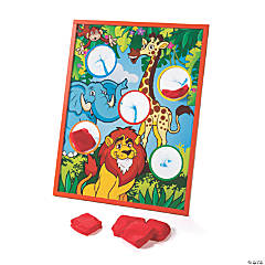 Zoo Animal Bean Bag Toss Game