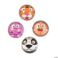 Zoo Animal Bouncing Balls