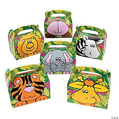Zoo Animal Favor Boxes