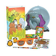 Zoo Animal Filled Treat Bag
