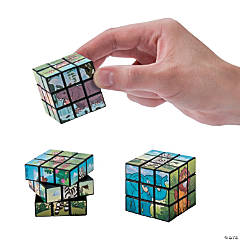 Zoo Animal Mini Magic Cubes
