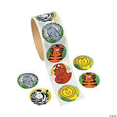 Zoo Animal Sticker Rolls