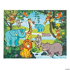 Zoo Sticker Scenes