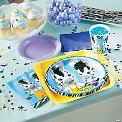 Zou Zebra Party Supplies