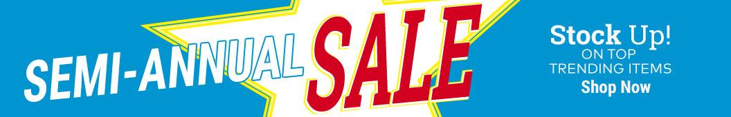 Semi-Annual Sale