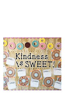 Donut Themed Bulletin Board