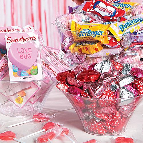 2017 Valentines Day Party Supplies Candy Crafts Cards – Valentines Cards with Candy
