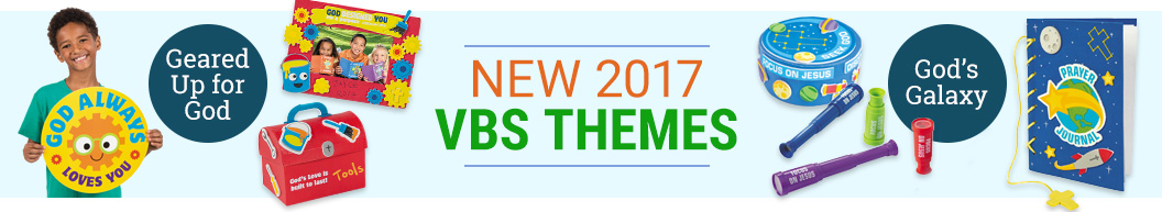 New 2017 VBS Themes