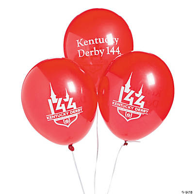 144<sup>th</sup> Kentucky Derby<sup>®</sup> Latex Balloons