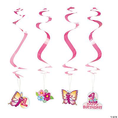 how to make hanging swirls