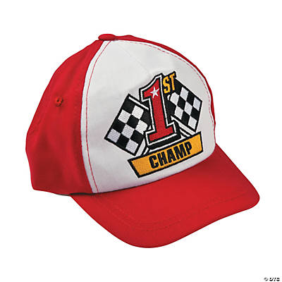 1st Birthday Race Car Hat