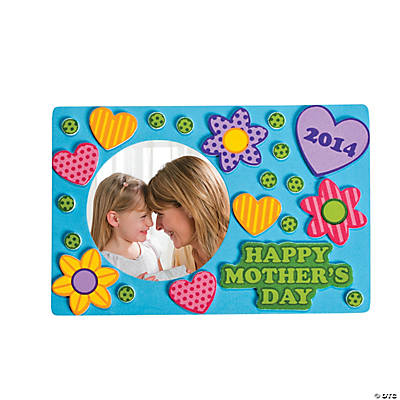 2014 2015 happy mother 39 s day picture frame craft kit for Mother s day craft kits