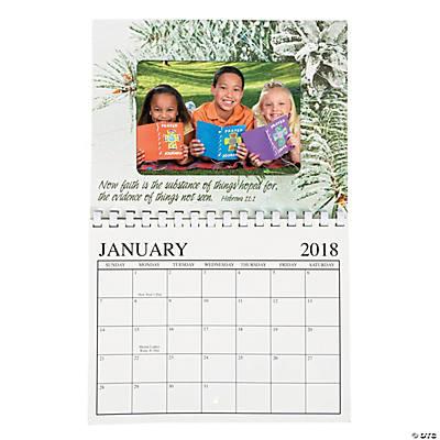 2018 Religious Photo Frame Calendar