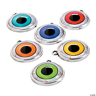 3D Eyeball Charms - 23mm