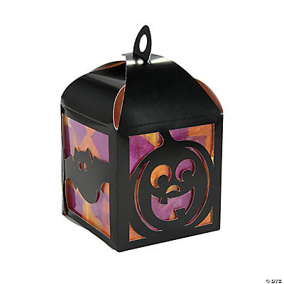 3D Halloween Tissue Lantern Craft Kit