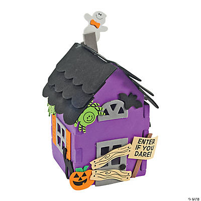 3D Haunted House Craft Kit